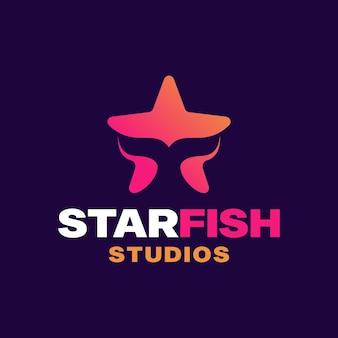 Szablon projektu logo rozgwiazdy