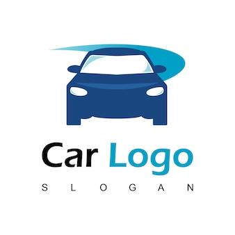 Szablon projektu logo samochodu