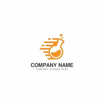 Szablon projektu logo Speed Lab wektor