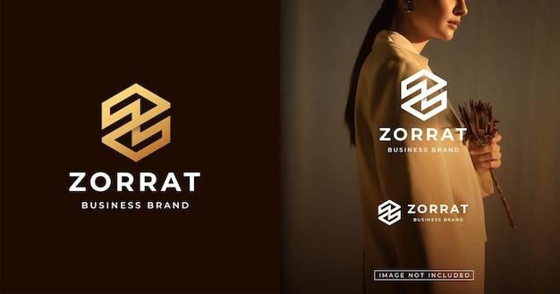 Szablon projektu logo w stylu nowoczesnego listu monogram
