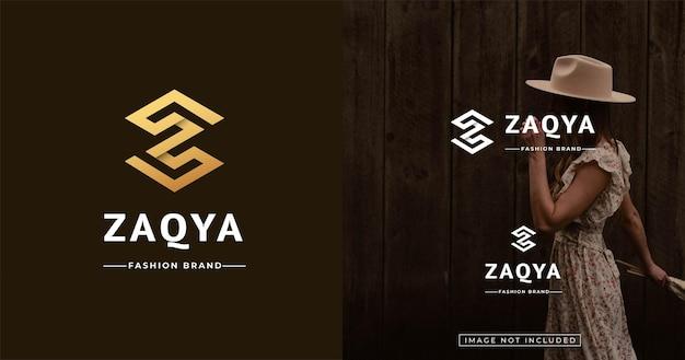 Szablon Projektu Logo W Stylu Nowoczesnego Listu Monogram Premium Wektorów
