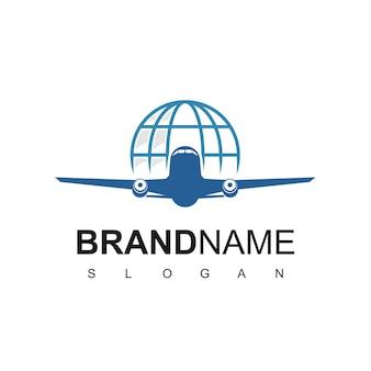 Szablon projektu logo wycieczki i podróży