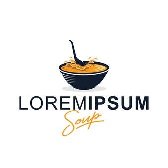 Szablon projektu logo zupa