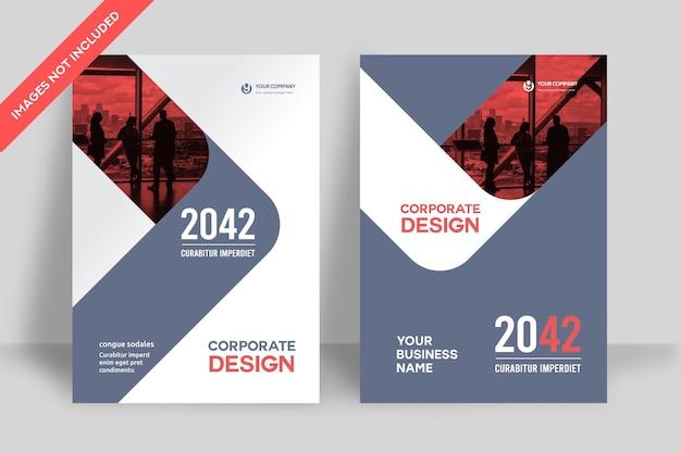 Szablon projektu okładki książki firmowej