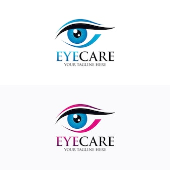 Szablon projektu oko logo