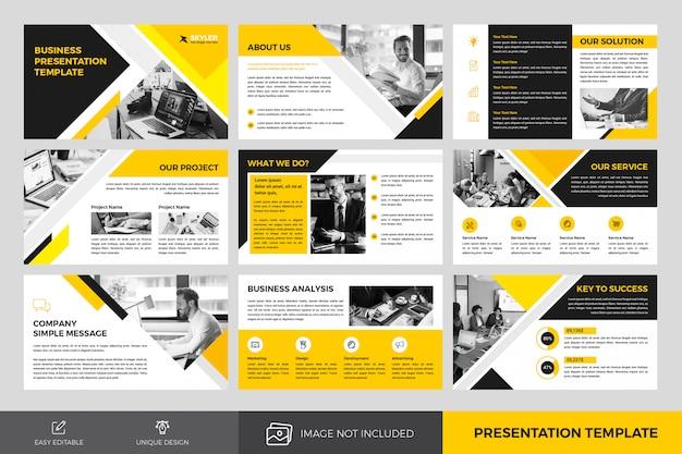 Szablon projektu prezentacji biznesowych