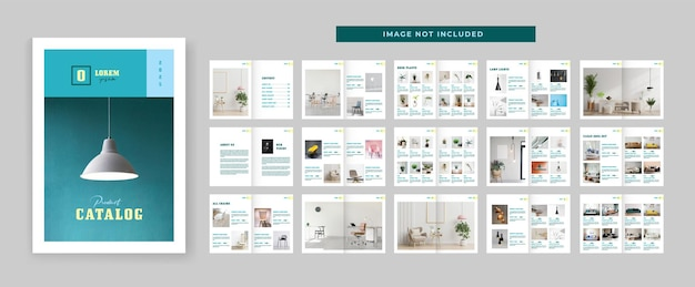 Szablon projektu układu katalogu produktów