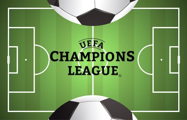 Szablon projektu ulotki ligi piłki nożnej