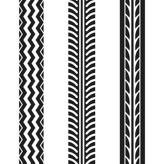 Szablon projektu wektor ikona ilustracja opony