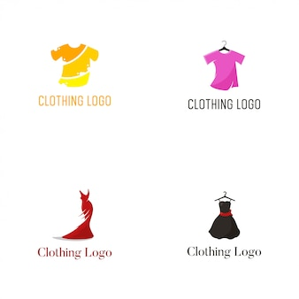 Szablon projektu wektor logo odzież