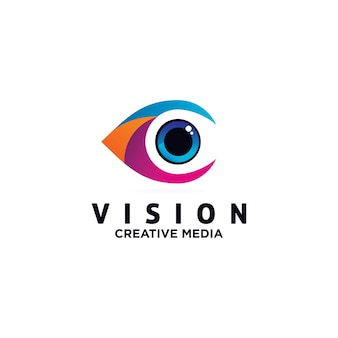 Szablon projektu wektor logo oko