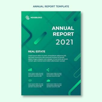 Szablon raportu rocznego nieruchomości