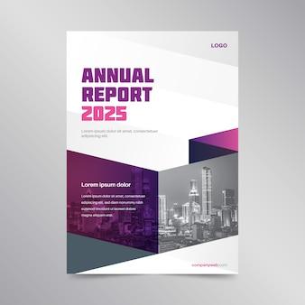 Szablon raportu rocznego streszczenie