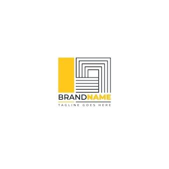 Szablon redakcyjny logo streszczenie