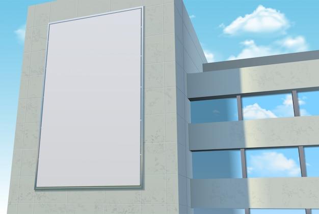 Szablon reklamy billboard