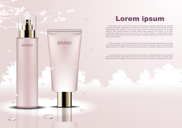 Szablon reklamy kosmetyczne