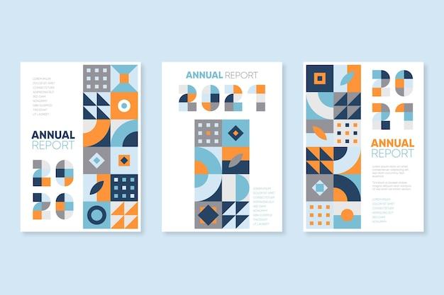 Szablon rocznego raportu geometrycznego