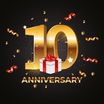 Szablon rocznica 10 lat