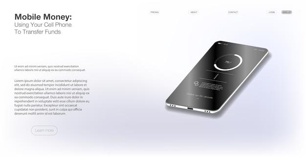 Szablon sieciowy i mobilny. różne ekrany ui, ux, gui aplikacja fitness