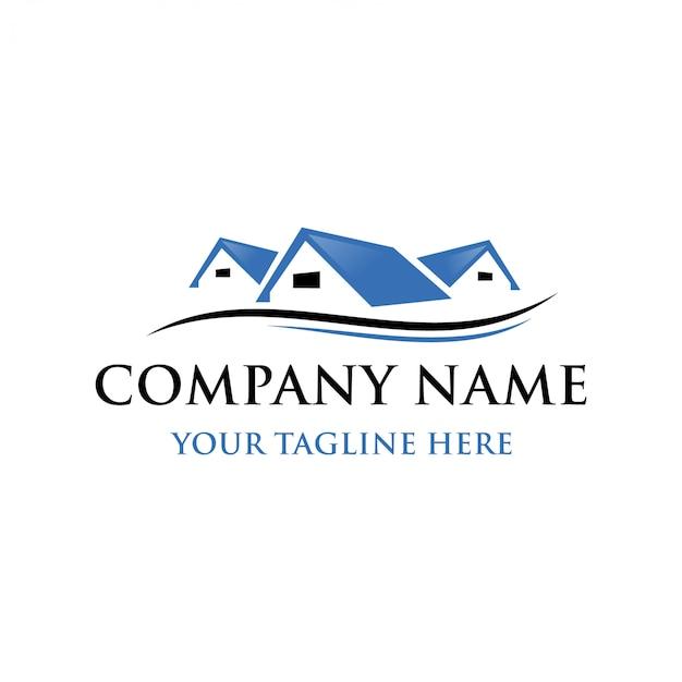 Szablon składowy logo nieruchomości