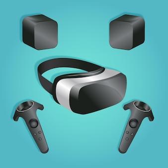Szablon sprzętu do rzeczywistości wirtualnej
