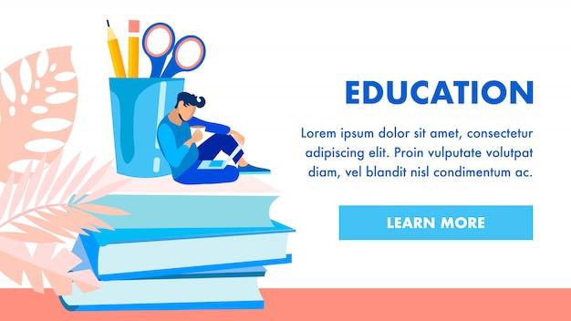 Szablon strony głównej instytucji edukacyjnej