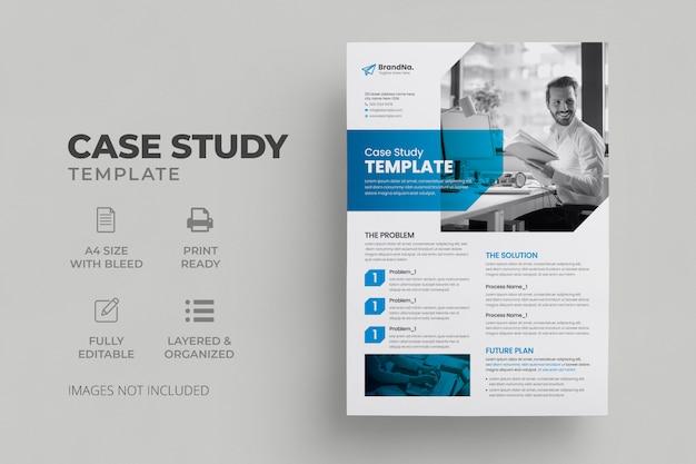 Szablon studium przypadku | studium przypadku biznesowego