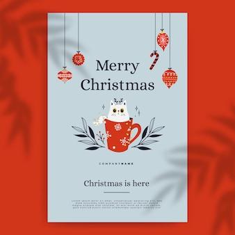 Szablon świątecznego wpisu na blogu