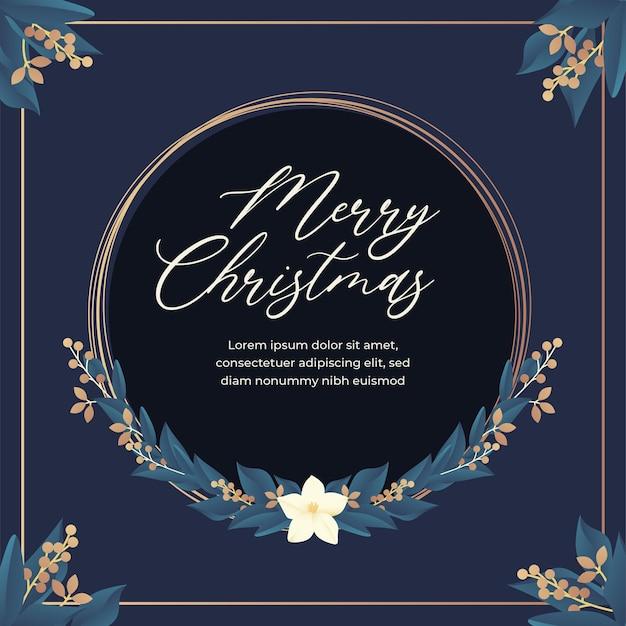Szablon świątecznych życzeń
