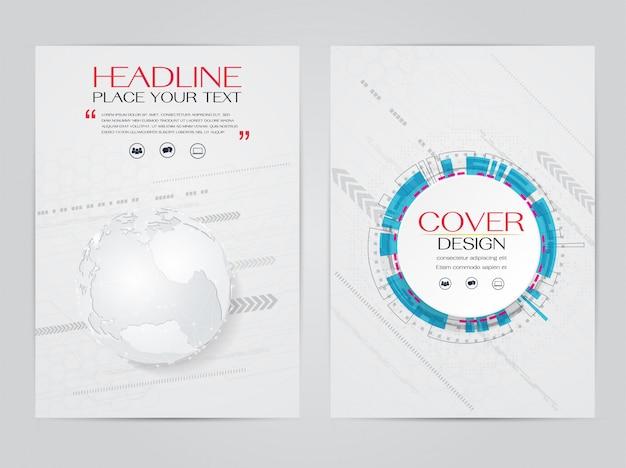 Szablon technologii broszury
