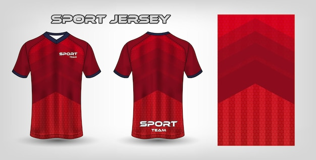 Szablon tekstylny z tkaniny sportowej