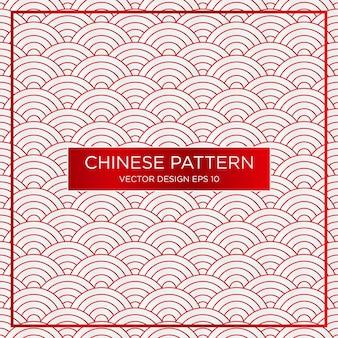 Szablon tło streszczenie tradycyjnych chińskich wzór