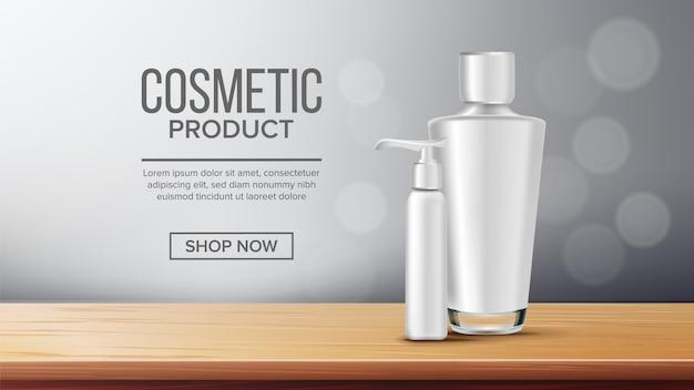 Szablon transparent butelki kosmetyczne