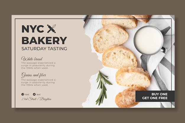 Szablon transparent chleb ze zdjęciem