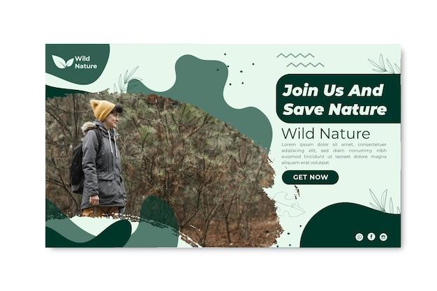 Szablon Transparent Dzikiej Przyrody Darmowych Wektorów