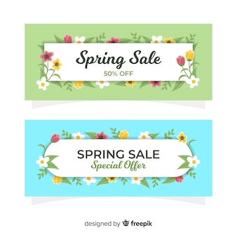 Szablon transparent kwiatowy sprzedaż wiosna