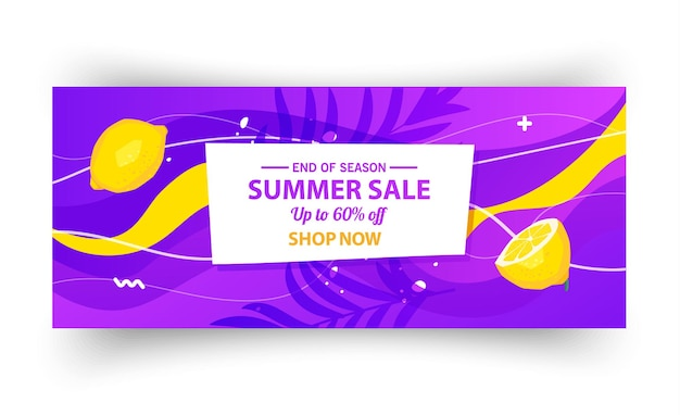 Szablon transparent letniej sprzedaży