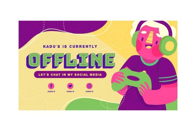 Szablon transparent offline offline