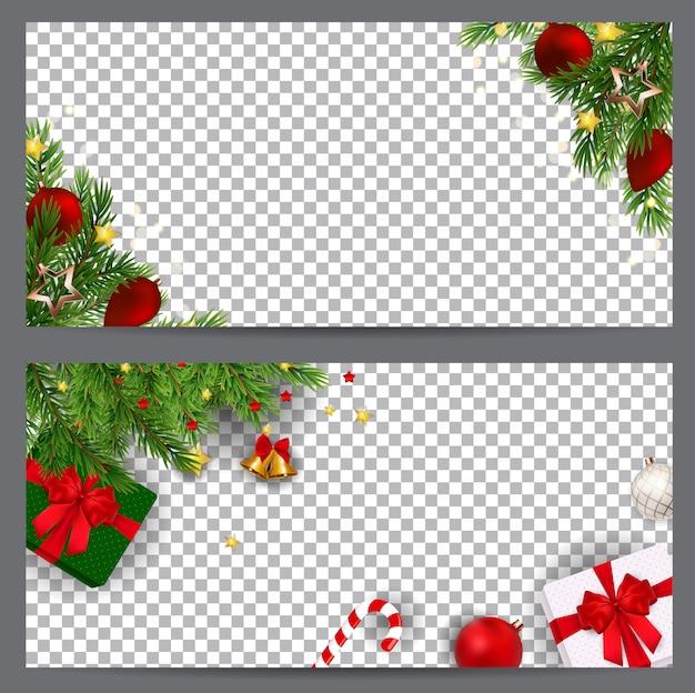 Szablon transparent ozdoby świąteczne