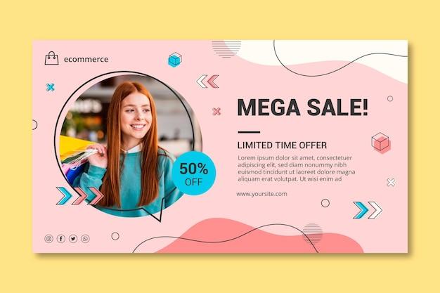 Szablon transparent poziome zakupy online