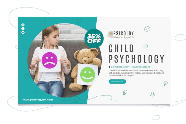 Szablon transparent psychologii