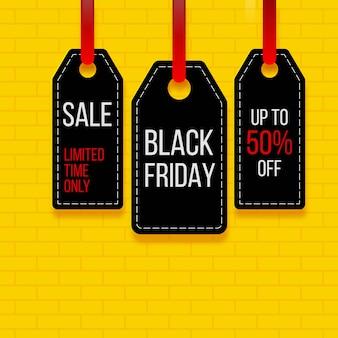Szablon transparent sprzedaż czarny piątek.