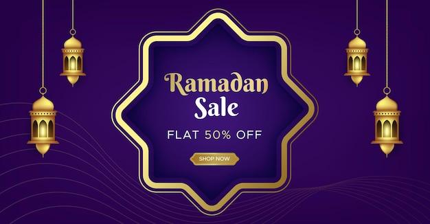Szablon transparent sprzedaż ramadan kareem