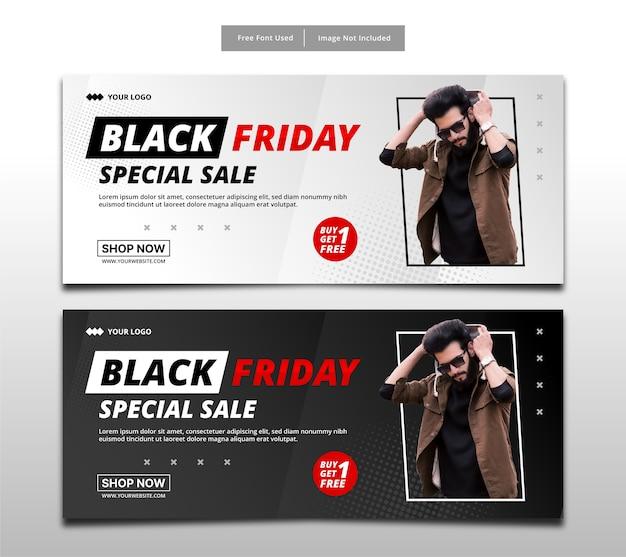 Szablon transparent sprzedaż specjalna czarny piątek.