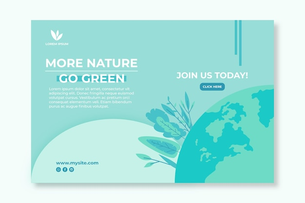 Szablon transparent środowiska