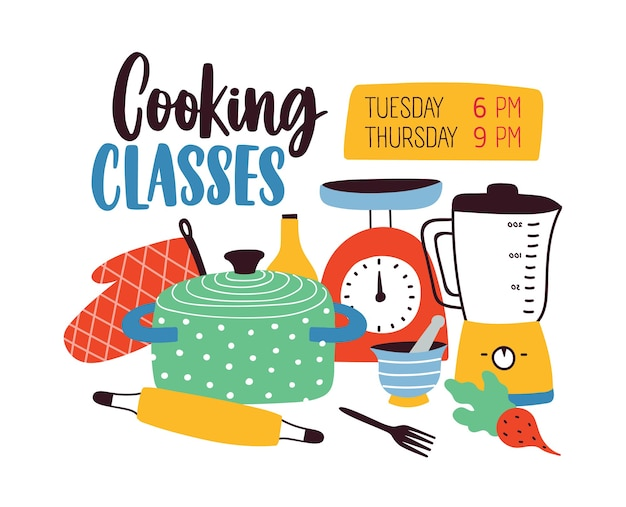 Szablon transparent z naczyniami lub przyborami kuchennymi do gotowania lub przygotowywania posiłków.