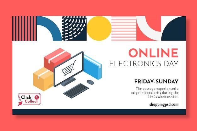 Szablon transparent zakupy online