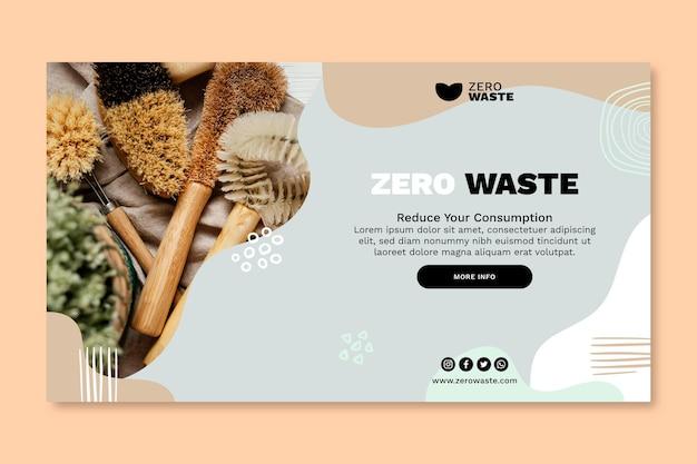 Szablon transparent zero waste