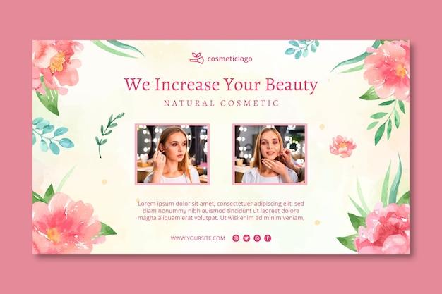 Szablon transparentu kosmetycznego