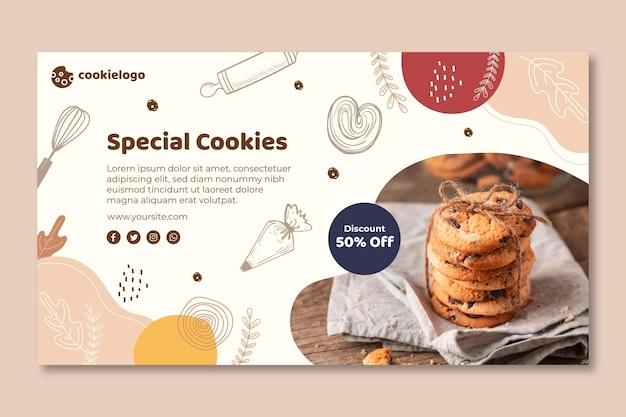Szablon transparentu plików cookie